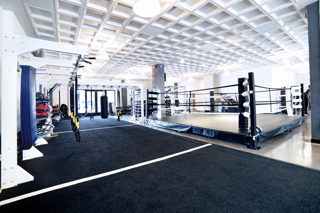 Group Fitness Room Design