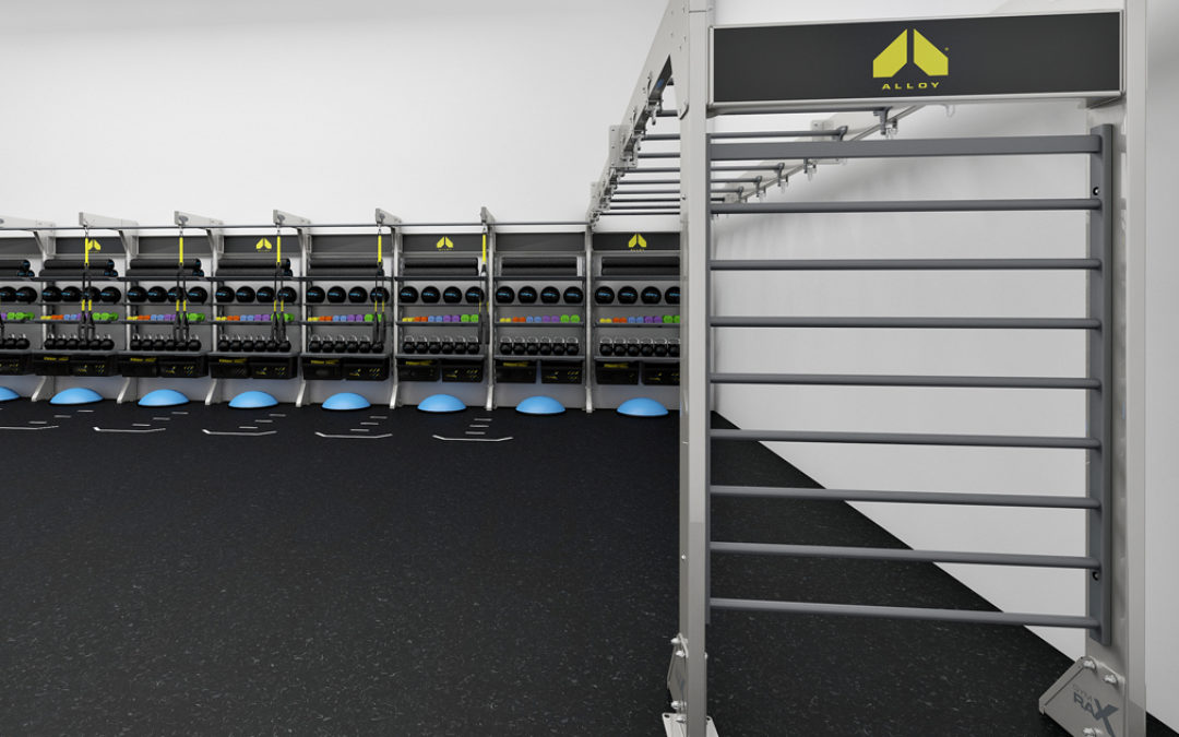 Aktiv Solutions & Alloy Personal Training Build Model for Training Spaces