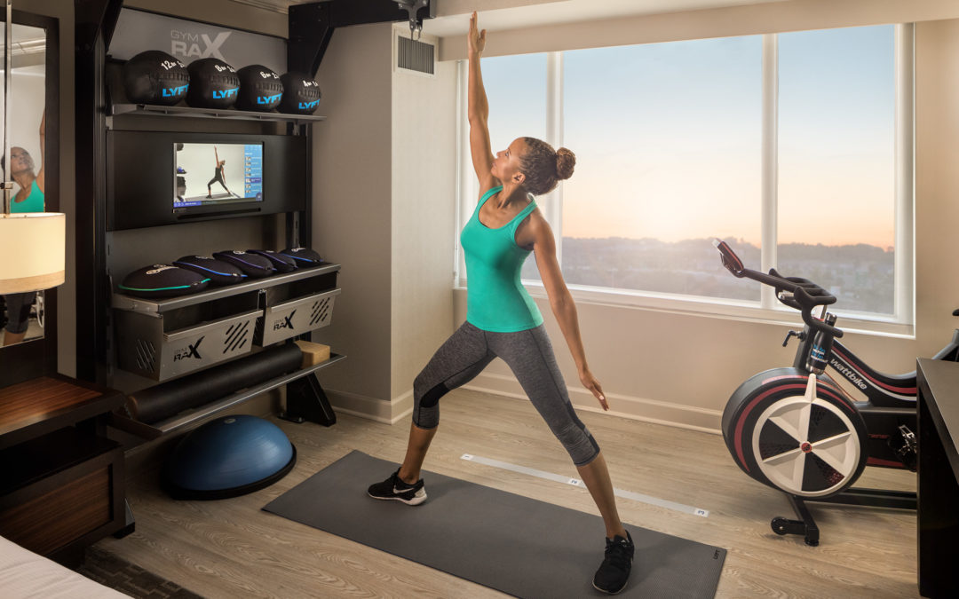 "Aktiv Solutions' Virtual Training Platform Powers Hilton's Innovative ""Five Feet to Fitness"" In-Room Fitness Offering"