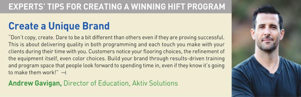 Andrew Gavigan Aktiv Solutions Creating a HIFT Program CBI IHRSA